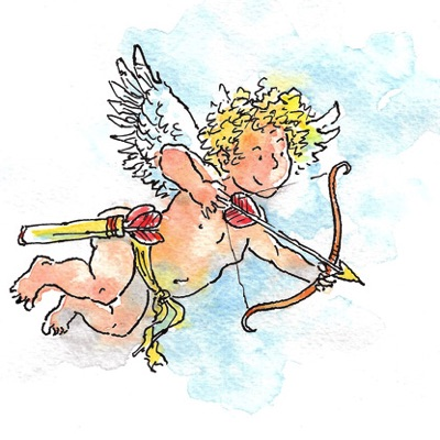 cartoon cupid